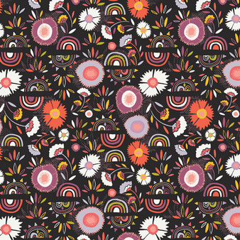 Divine Pacha from the Kushukuru collection by Art Gallery Fabrics. 100% OEKO-TEX Certified Standard Cotton Fabric