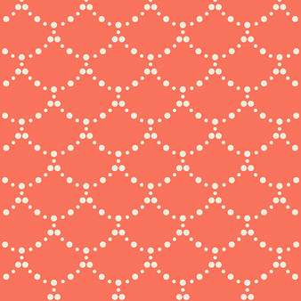 Ripple Coral from the Millie Fleur collection by Art Gallery Fabrics. 100% Cotton Fabric
