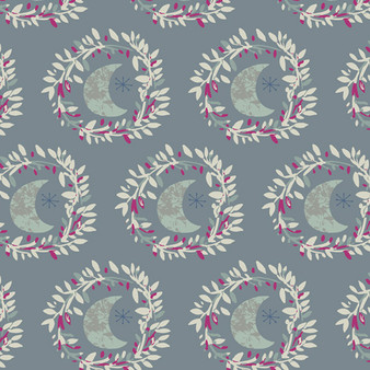 Lunar Illusion Crystal from the Mystical Land collection by Art Gallery Fabrics. 100% OEKO-TEX Certified Standard Cotton Fabric