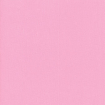 Amelia Pink from the Bella Solids collection by Moda Fabrics. 100% Medium Weight Quilting Cotton.