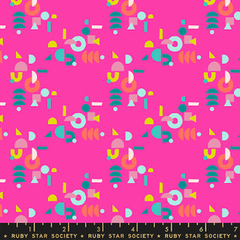 Puzzling Berry from the Adorn collection by Ruby Star Society. 100% Lightweight Cotton