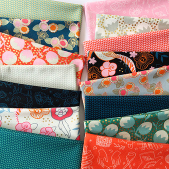 Purl Fat Quarter Bundle by Ruby Star Society. 100% Lightweight Cotton