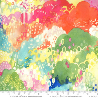 Treetop Multi from the Fanciful Forest collection by Moda Fabrics. 100% Medium Weight Quilting Cotton.