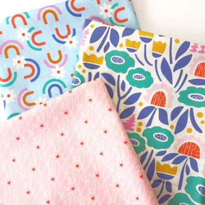 Universal Love by Cloud 9 Fabrics: New Fabric and Sewing Projects