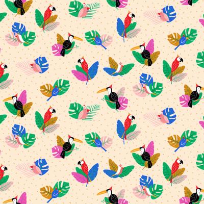 New Fabric: Tropical Jammin' by Figo Fabrics