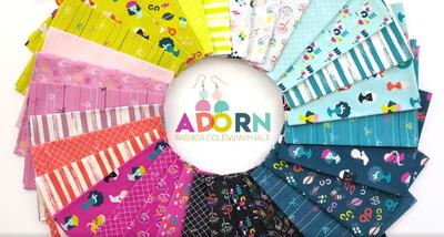New Fabric by Ruby Star Society: Adorn by Rashida Coleman-Hale