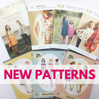New Sewing Patterns In Stock!