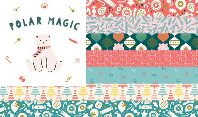 Christmas Fabric 2020: Polar Magic by Figo Fabrics