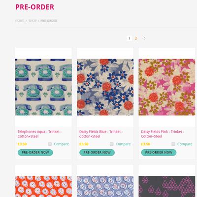 Pre-Order Fabric Guide