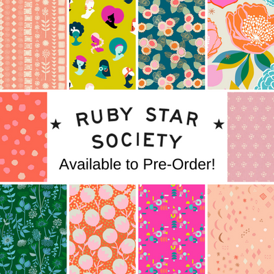 Ruby Star Society Fabrics Available to Pre-Order