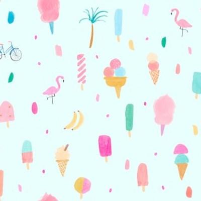 New Fabric by Dear Stella: Girls Just Wanna Have Sun and No Probllama