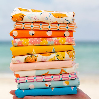 Sunburst by Art Gallery Fabrics: New Fabric with Lots of Sewing Ideas!
