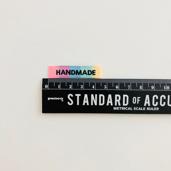 """""""Handmade"""" Sew-In Clothes Label (Pack of 8) By Kylie and The Machine"""