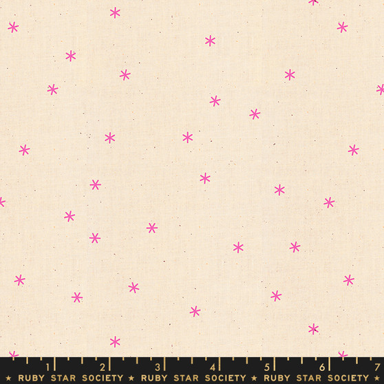 Neon Pink from the Spark collection by Ruby Star Society. 100% Lightweight Cotton