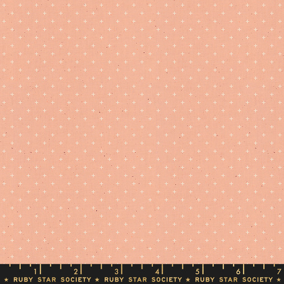 Peach from the Add It Up collection by Ruby Star Society. 100% Lightweight Cotton