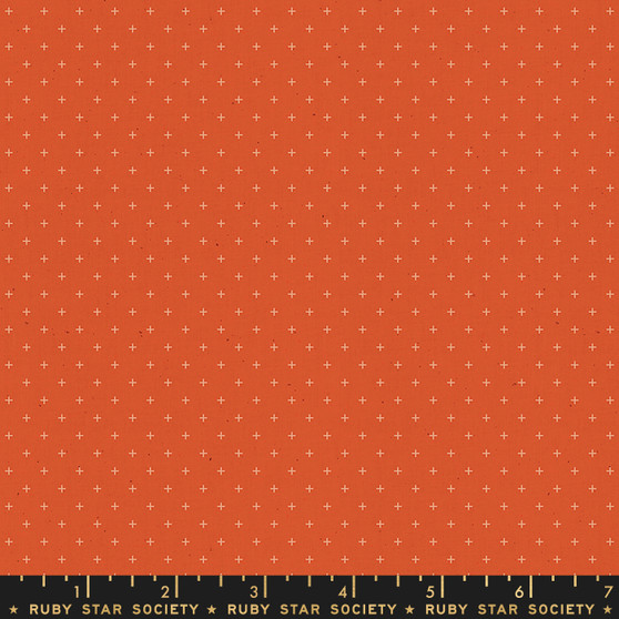 Rust from the Add It Up collection by Ruby Star Society. 100% Lightweight Cotton