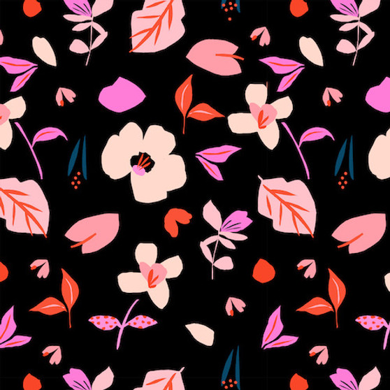 Playful from the Soiree collection by Dashwood Studio. 100% Cotton Fabric