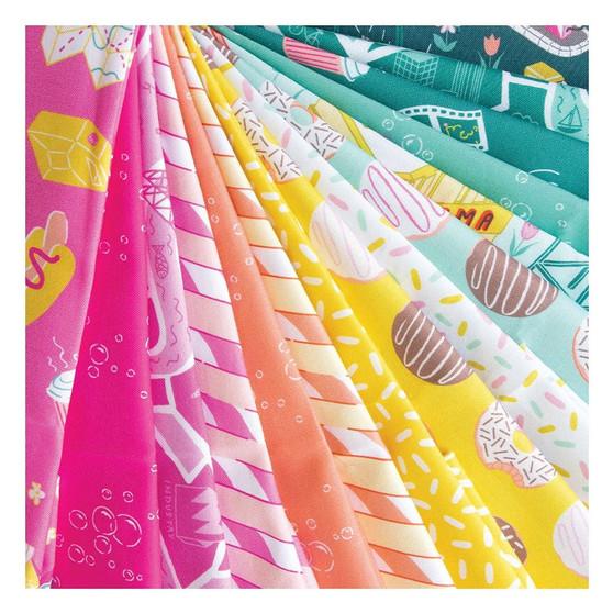 American Road Trip - Figo Fabrics, 100% Cotton Fabric (Image Source: Figo Fabrics)