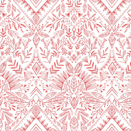 Skogen Red from the Skogen collection by Dashwood Studio. 100% Cotton Fabric