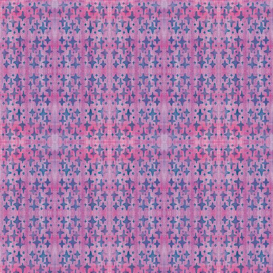 Crosses Purple from the Indian Summer Collection by PBS Fabrics. 100% Cotton Fabric