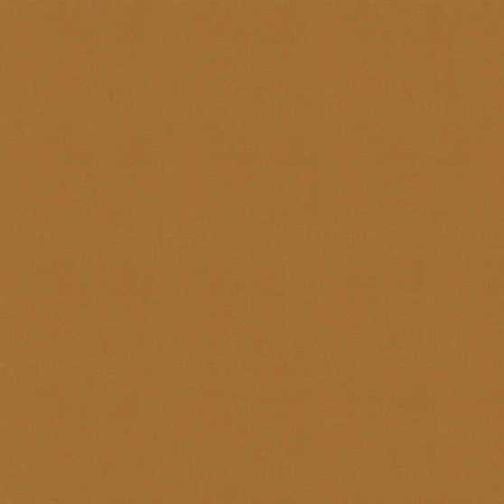 Caramel from the Bella Solids collection by Moda Fabrics. 100% Medium Weight Quilting Cotton.
