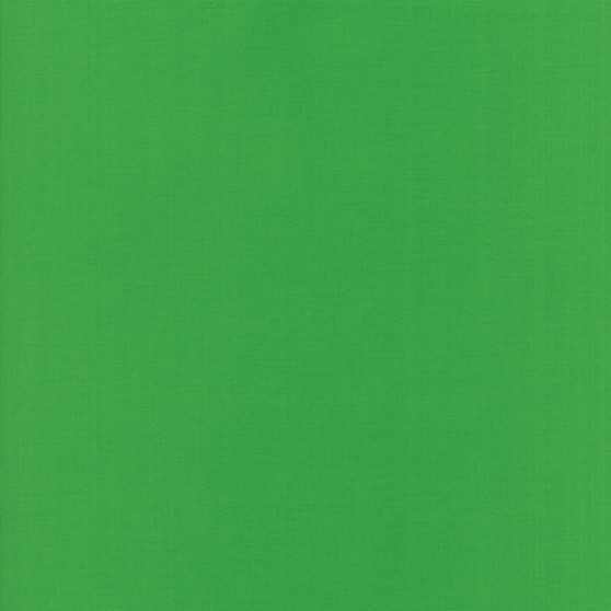 Shamrock from the Bella Solids collection by Moda Fabrics. 100% Medium Weight Quilting Cotton.