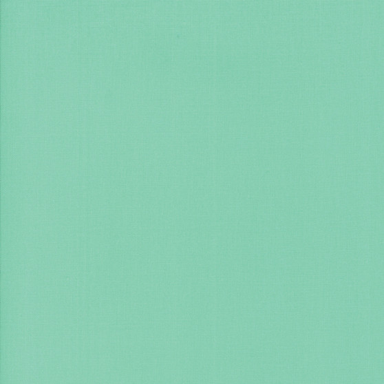 Green from the Bella Solids collection by Moda Fabrics. 100% Medium Weight Quilting Cotton.