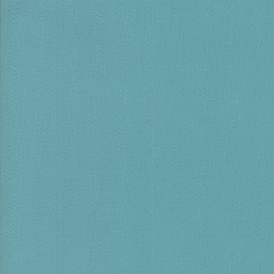 Teal from the Bella Solids collection by Moda Fabrics. 100% Medium Weight Quilting Cotton.