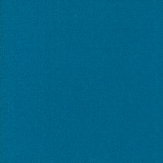 Horizon Blue from the Bella Solids collection by Moda Fabrics. 100% Medium Weight Quilting Cotton.