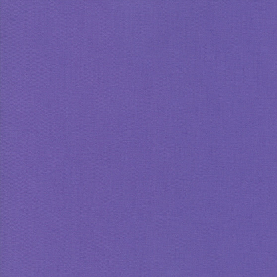 Amelia Purple from the Bella Solids collection by Moda Fabrics. 100% Medium Weight Quilting Cotton.