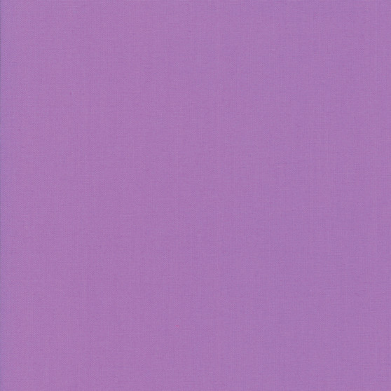 Sugar Plum from the Bella Solids collection by Moda Fabrics. 100% Medium Weight Quilting Cotton.
