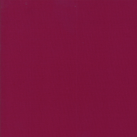 Boysenberry from the Bella Solids collection by Moda Fabrics. 100% Medium Weight Quilting Cotton.