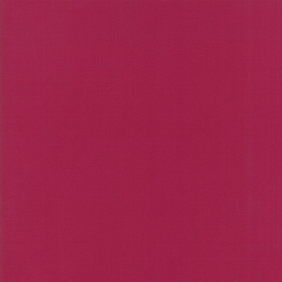 Garnet from the Bella Solids collection by Moda Fabrics. 100% Medium Weight Quilting Cotton.