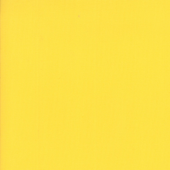 Yellow from the Bella Solids collection by Moda Fabrics. 100% Medium Weight Quilting Cotton.