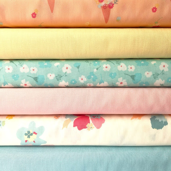 Daydream Fat Quarter Bundle - 6 Fabrics