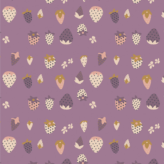 Berry Picking from the Lilliput collection by Art Gallery Fabrics. 100% OEKO-TEX Certified Standard Cotton Fabric