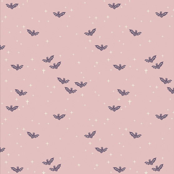 Winging It Bright from the Spooky and Sweeter collection by Art Gallery Fabrics. 100% OEKO-TEX Certified Standard Cotton Fabric