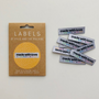 """""""Made With Love and Swear Words"""" Sew-In Clothes Label (Pack of 10) By Kylie and The Machine"""