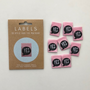 """""""Yes I Made It"""" Sew-In Tab Label (Pack of 8) By Kylie and The Machine"""