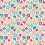 Waving Buds Candied from the Playing Pop collection by Art Gallery Fabrics. 100% Cotton Fabric