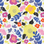 Street Art Moon from the Here Comes The Fun collection by Art Gallery Fabrics. 100% Cotton Fabric