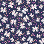 Flowers Navy from the Lost Treasures collection by Dashwood Studio. 100% Cotton Fabric