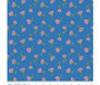 Cosmos Blue Sparkle from the Sweet Honey Kisses collection by Riley Blake Designs. 100% Medium Weight Cotton