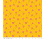 Cosmos Yellow Sparkle from the Sweet Honey Kisses collection by Riley Blake Designs. 100% Medium Weight Cotton