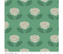 Stitch Green from the New Dawn collection by Riley Blake Designs. 100% Lightweight Cotton