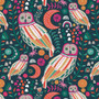 Sova Dayglow from the Lugu collection by Art Gallery Fabrics. 100% Cotton Fabric