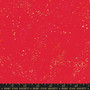 Metallic Scarlet from the Speckled collection by Ruby Star Society. 100% Lightweight Cotton