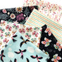 Tropical Garden collection by Cloud 9 Fabrics. 100% Certified Organic Cotton Fabric.