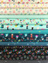Adorn Cool Fat Quarter Bundle by Ruby Star Society. 100% Lightweight Cotton