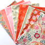 Purl Coral Fat Quarter Bundle from Ruby Star Society - 100% Lightweight Cotton
